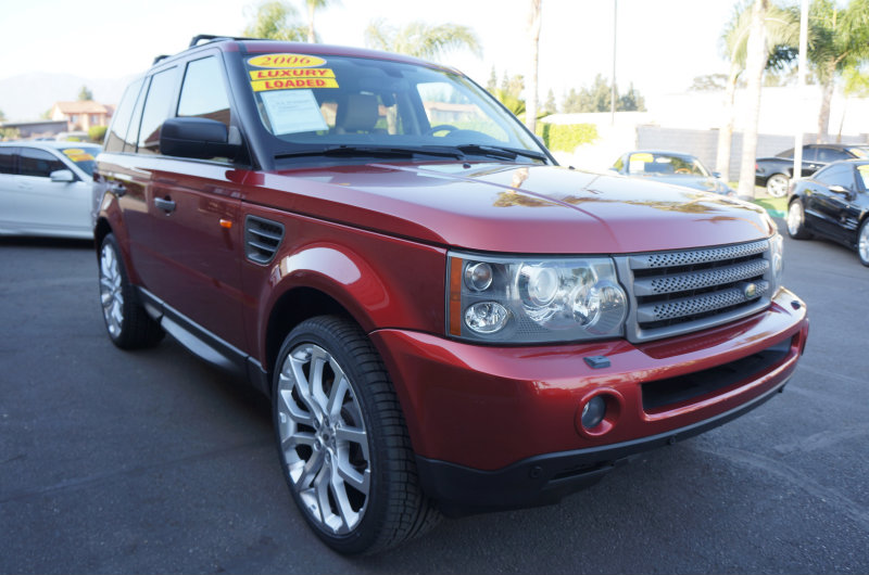 2006 Land Rover Range Rover Sport HSE 09 APRLimited term financing OAC  on 09 or newer mode