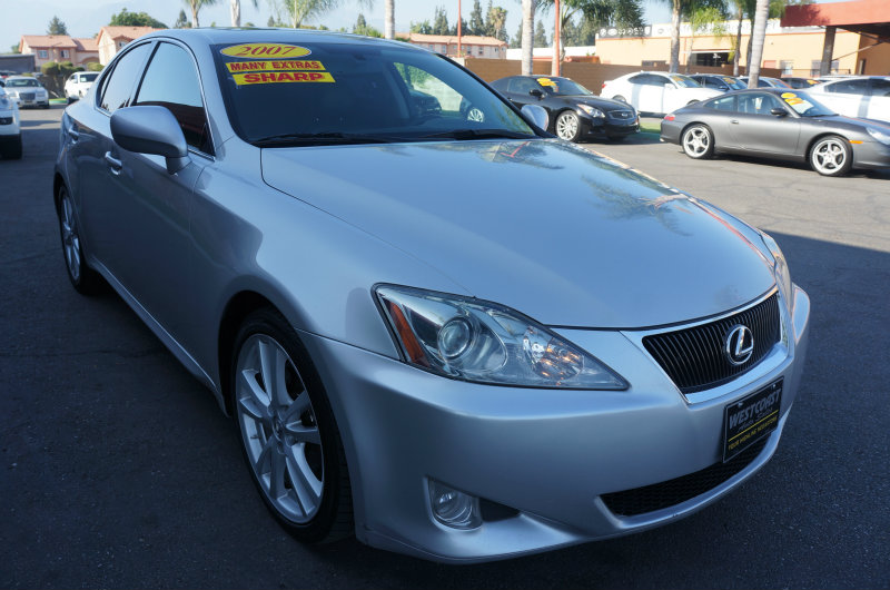 2007 Lexus IS 250  09 APRLimited term financing OAC  on 09 or newer models nbsprestricti