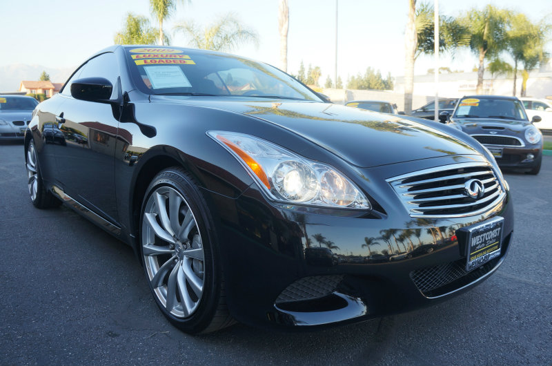 2009 Infiniti G37 Convertible Base 09 APRLimited term financing OAC  on 09 or newer models