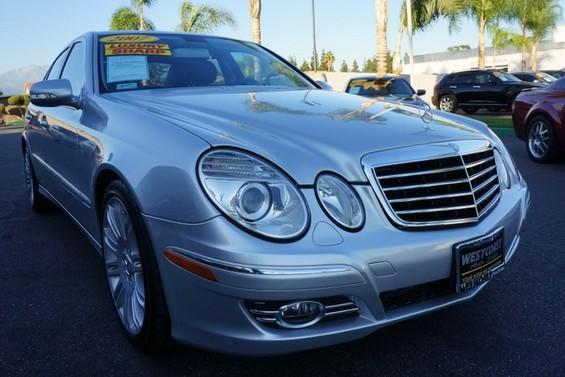 2007 MERCEDES E-Class 35L 09 APRLimited term financing OAC  on 09 or newer models nbspr