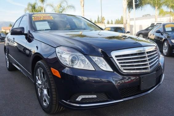 2010 MERCEDES E-Class E550 Luxury 09 APRLimited term financing OAC  on 09 or newer models