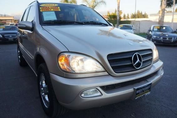 2003 MERCEDES M-Class 35L 09 APRLimited term financing OAC  on 09 or newer models nbspr